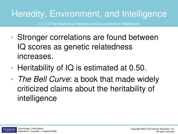 Heredity, Environment, and Intelligence