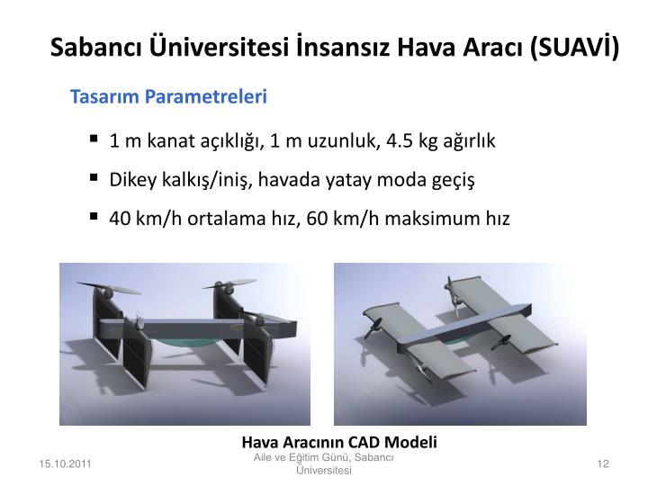 Tasarım Parametreleri