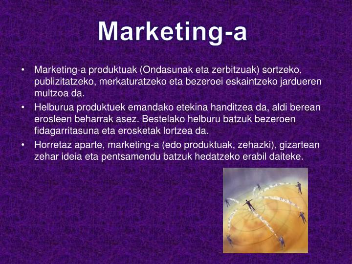 Marketing-a