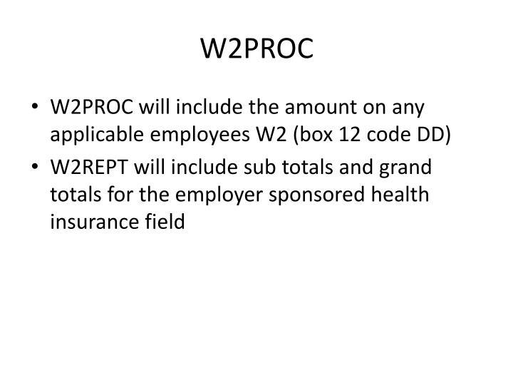 W2PROC
