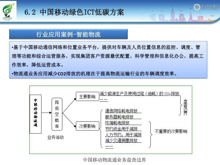 中国移动物流通减排潜力