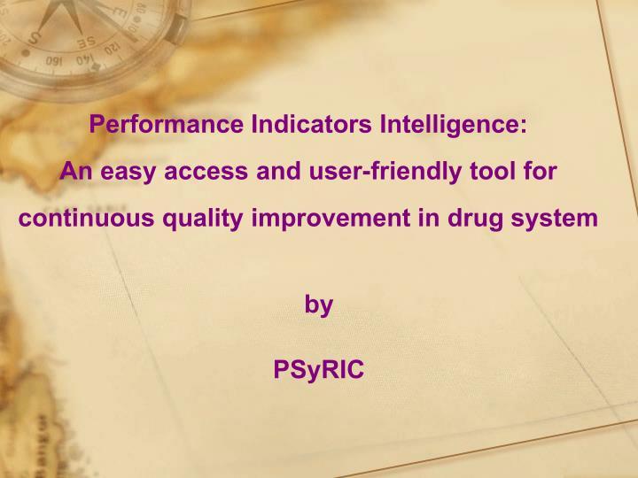 Performance Indicators Intelligence: