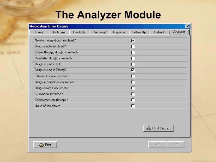 The Analyzer Module