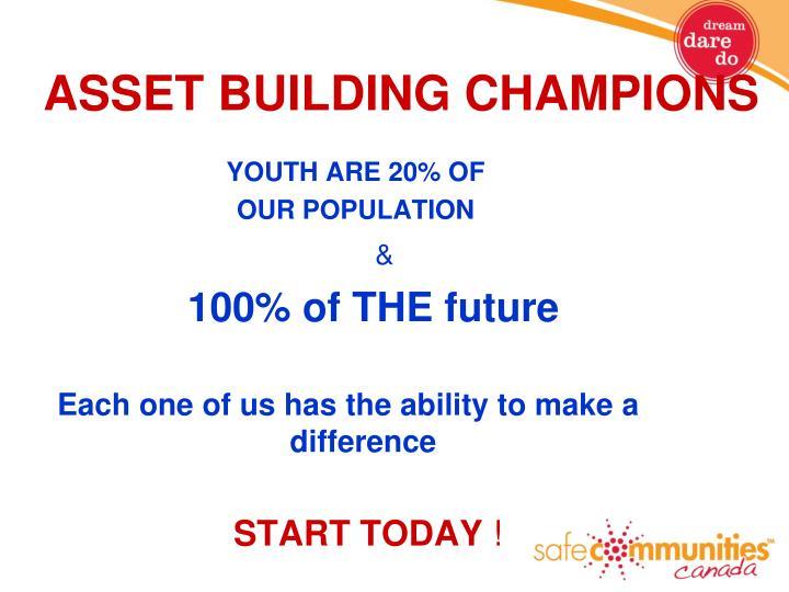 ASSET BUILDING CHAMPIONS