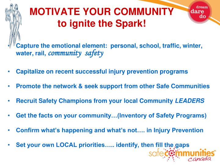MOTIVATE YOUR COMMUNITY