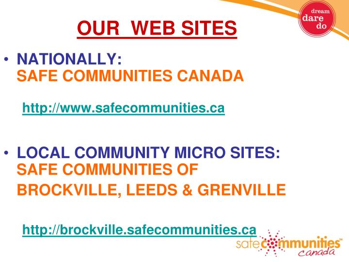 OUR  WEB SITES