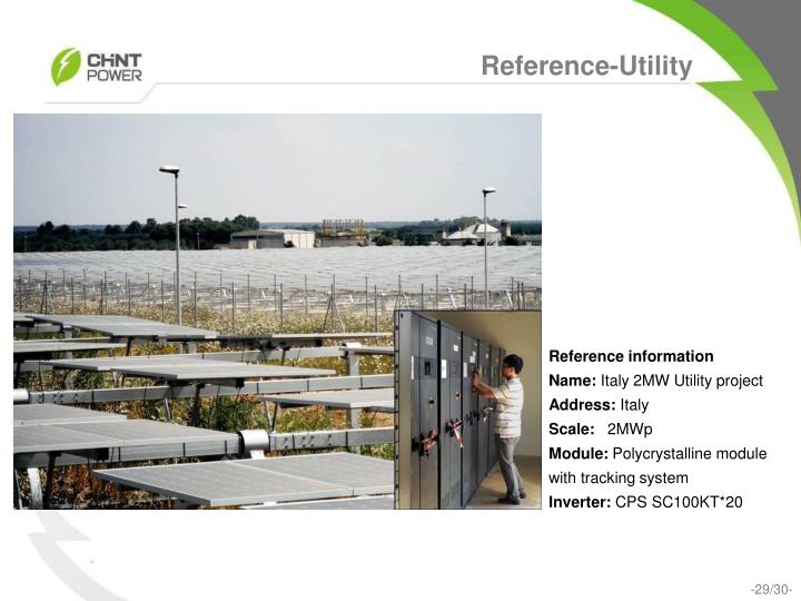 Reference-Utility