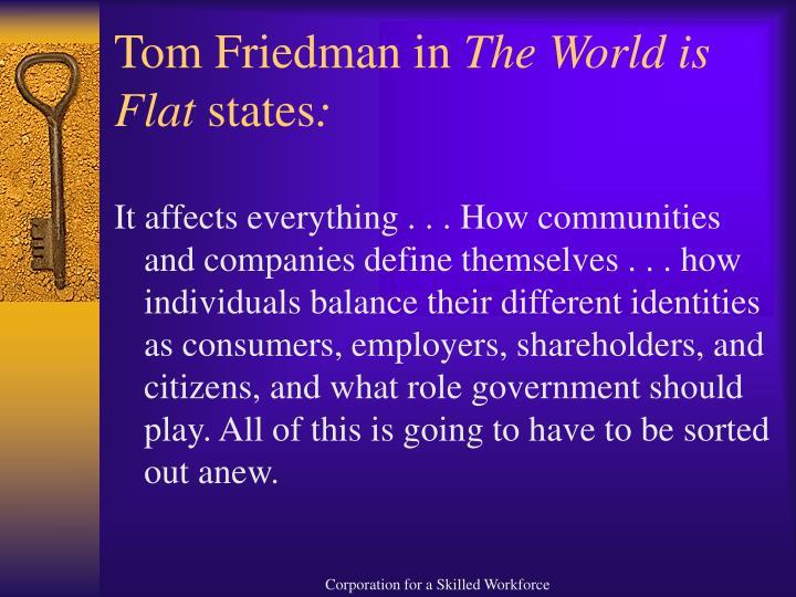 Tom Friedman in
