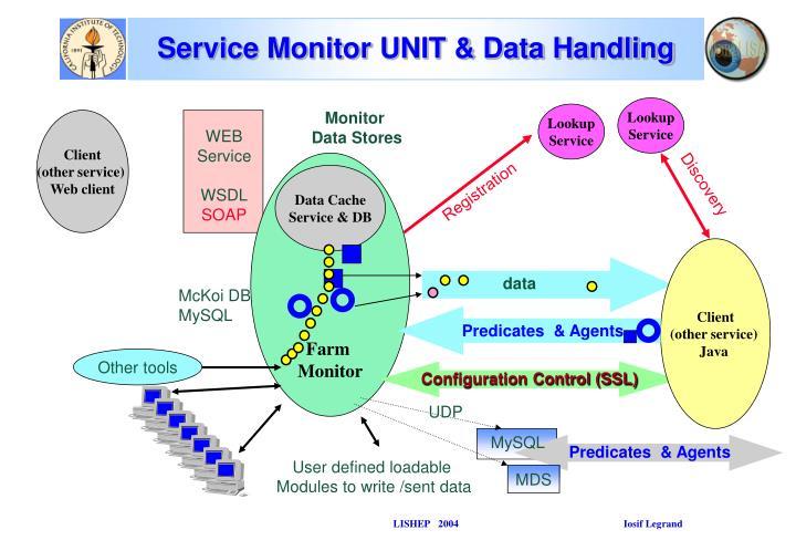 Service Monitor UNIT & Data Handling