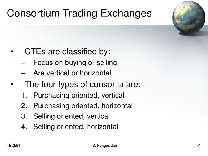 Consortium Trading Exchanges
