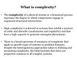 what is complexity