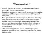 why complexity1