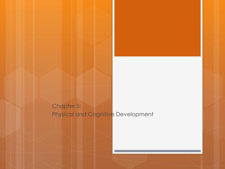 Chapter 5 physical and cognitive development