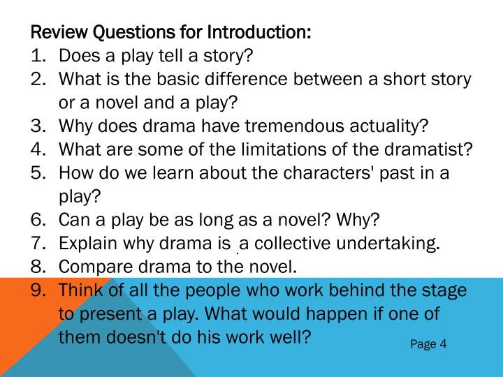 Review Questions for Introduction: