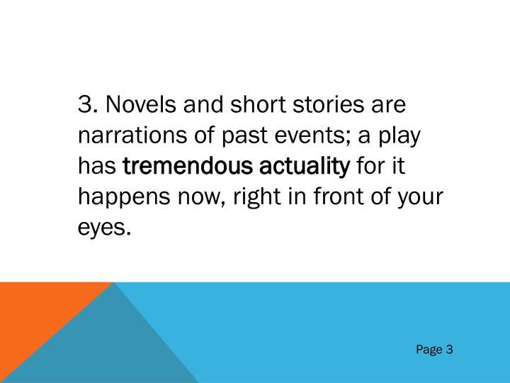 3. Novels