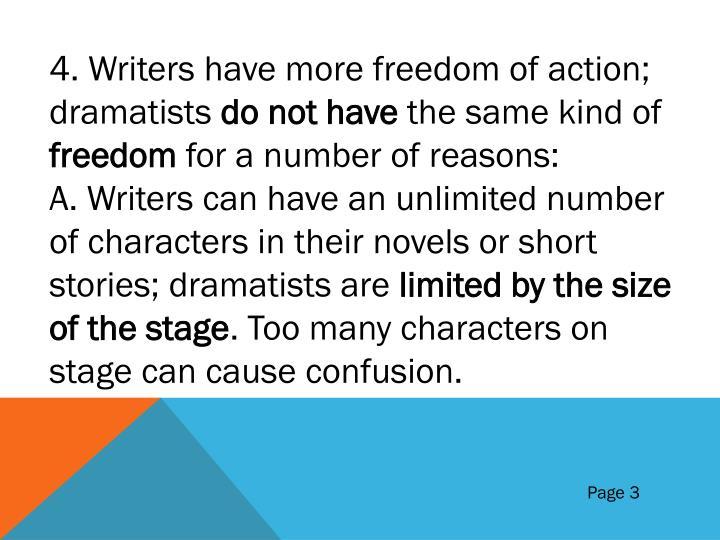 4. Writers