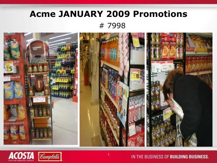Acme january 2009 promotions1