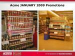 acme january 2009 promotions2
