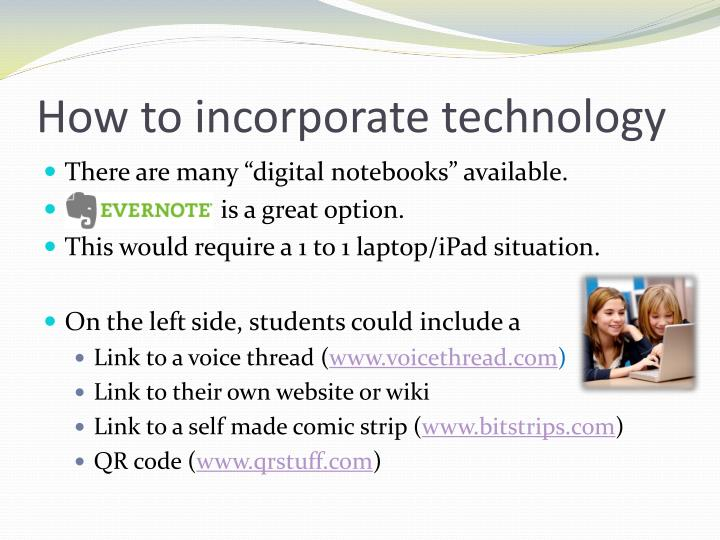 How to incorporate technology