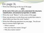 on page 3l