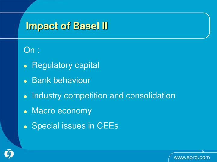 Impact of Basel II