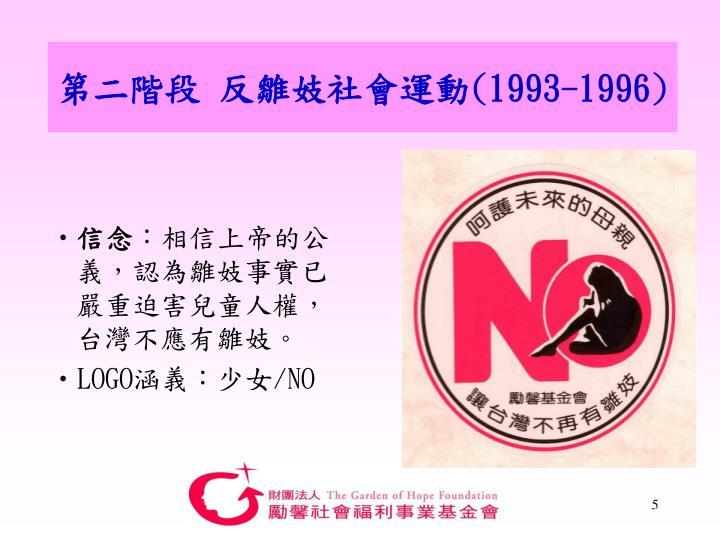 第二階段 反雛妓社會運動
