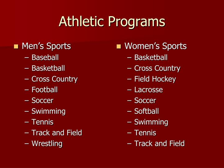 Men's Sports