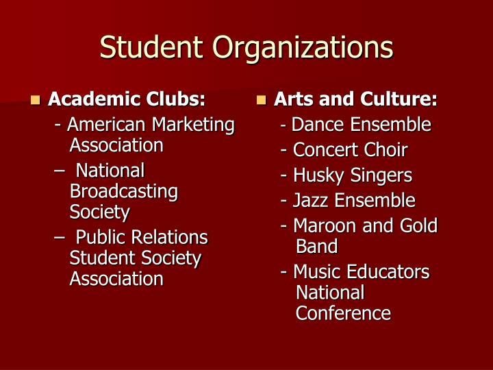 Academic Clubs: