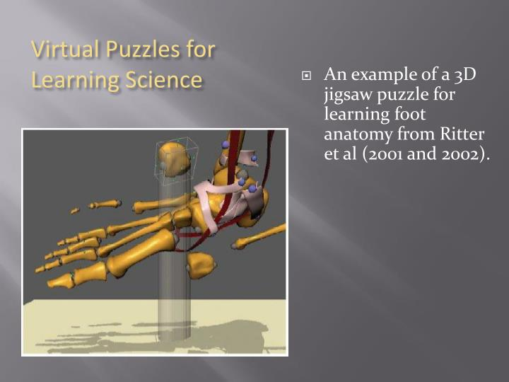 Virtual Puzzles for Learning Science