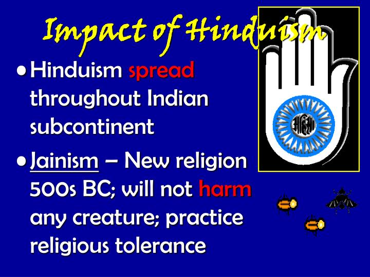 explain the impact on hinduism of Hinduism has no official doctrines or formal creeds there are hindus explain their notion of unity with brahman with the analogy of air inside a jar.