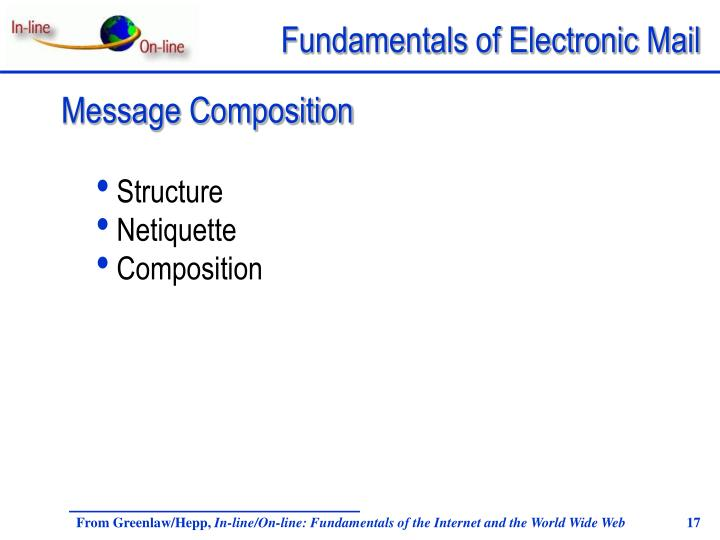 Message Composition