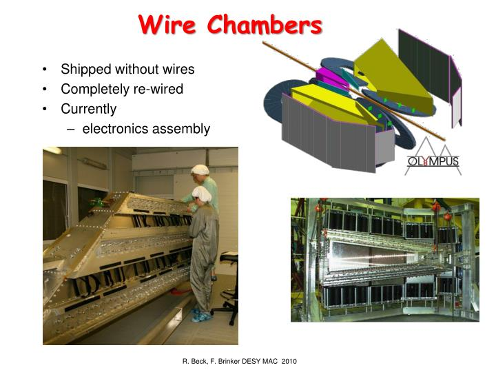 Wire Chambers