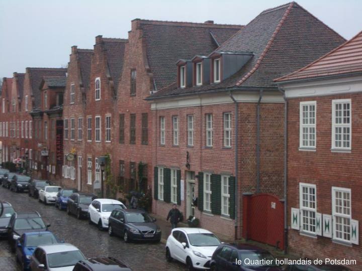 le Quartier hollandais de Potsdam