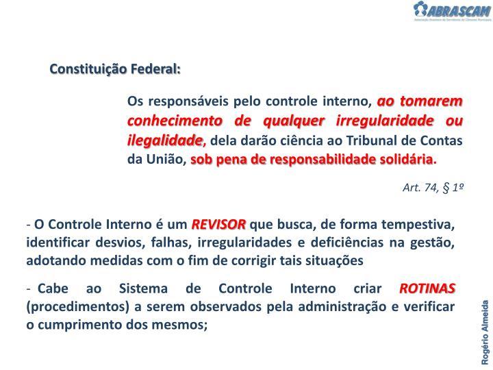 Constituição Federal: