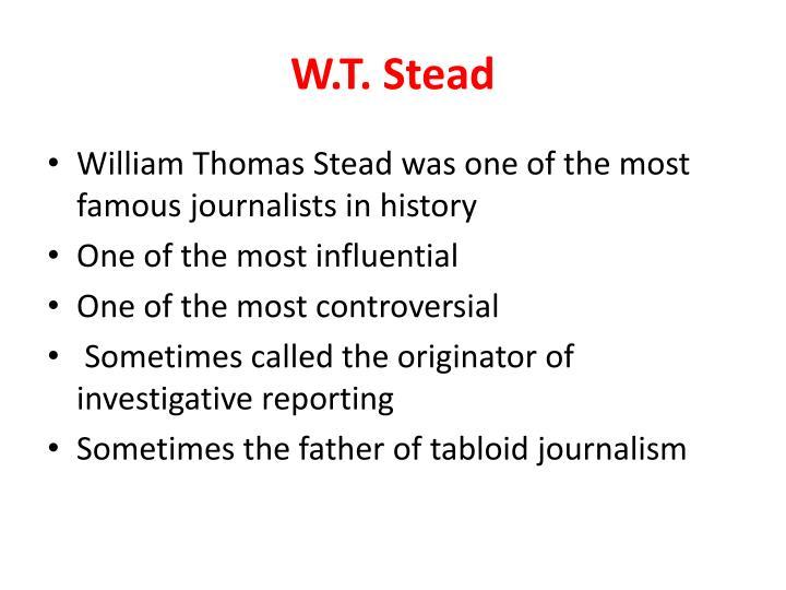 W.T. Stead