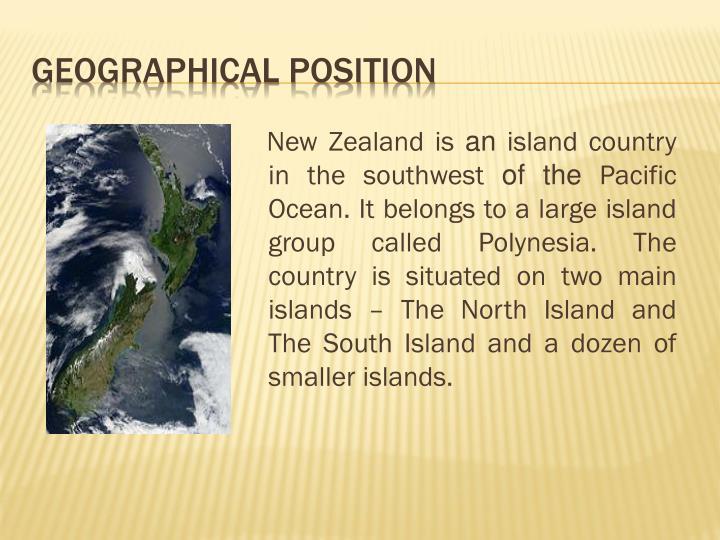 New Zealand is