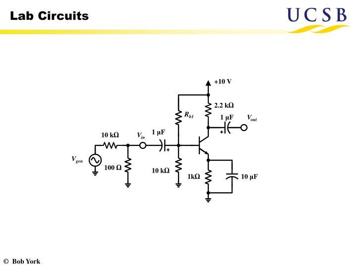 Lab Circuits