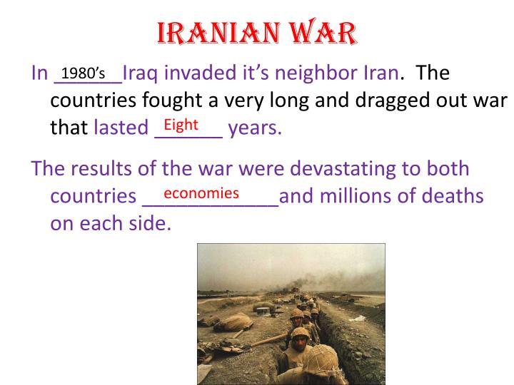 Iranian War