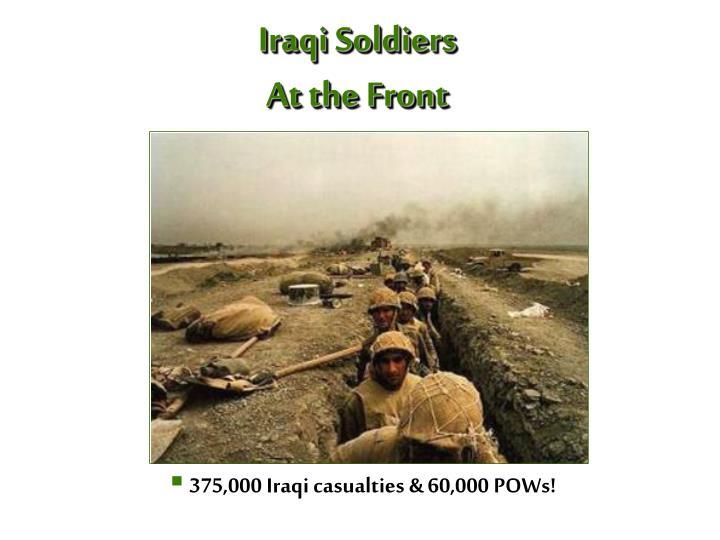 Iraqi Soldiers