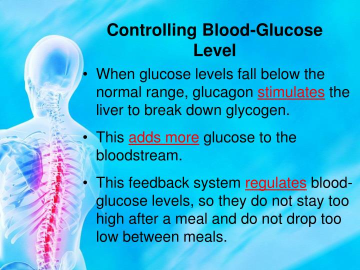 Controlling Blood-Glucose Level