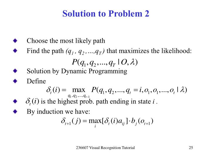 Solution to Problem 2