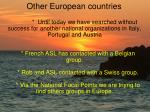 other european countries