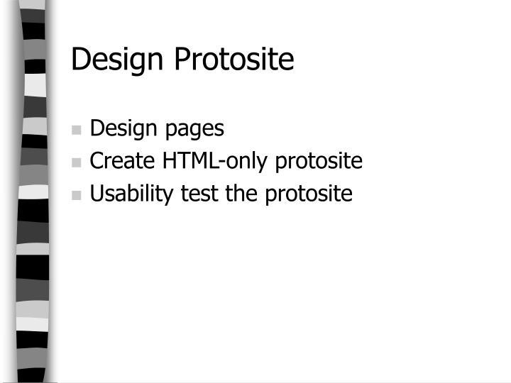 Design Protosite