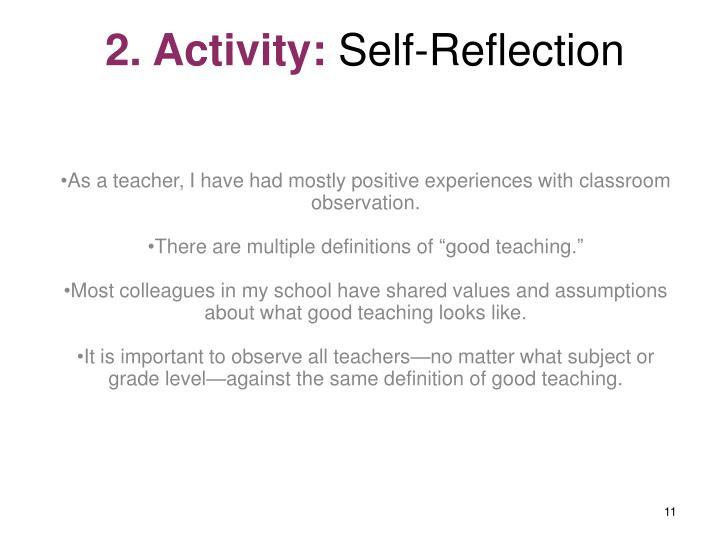 2. Activity: