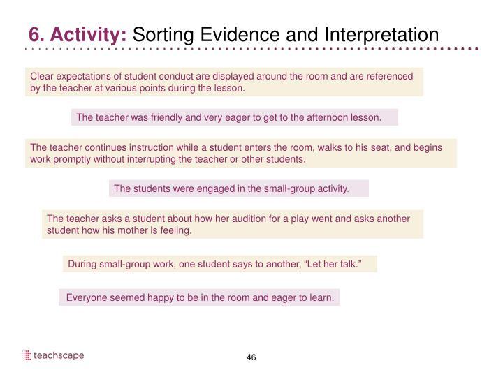 6. Activity: