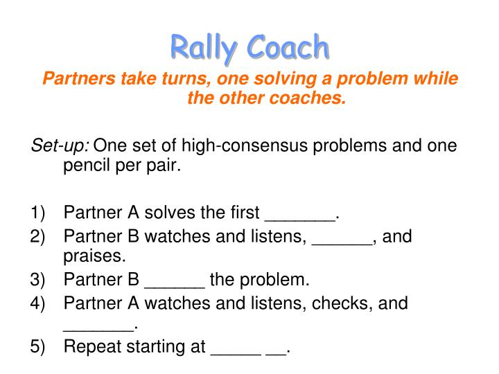 Rally Coach