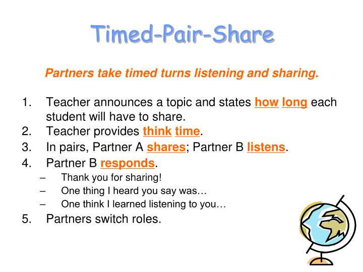 Timed-Pair-Share