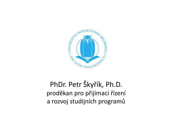 PhDr. Petr