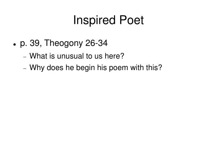 Inspired Poet