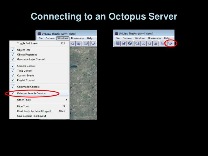 Connecting to an Octopus Server
